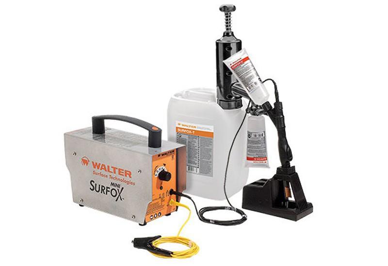 Surfox mini оборудование для электрохимической обработки нержавеющей стали