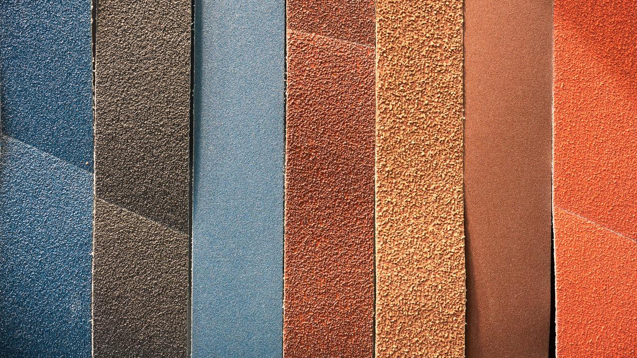 Цветовая дифференциация шлифовальных лент